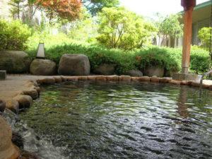 神代桜祭りの後はむかわの湯