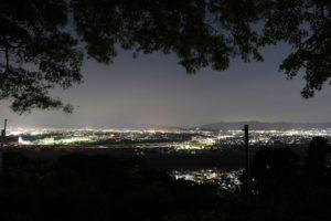 京都の夜景は男山展望台がおすすめ